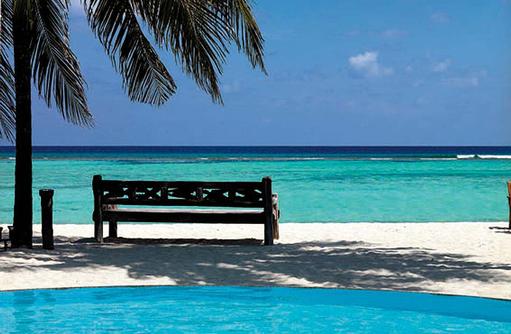 Bank unter Palmen I Palm Beach Island