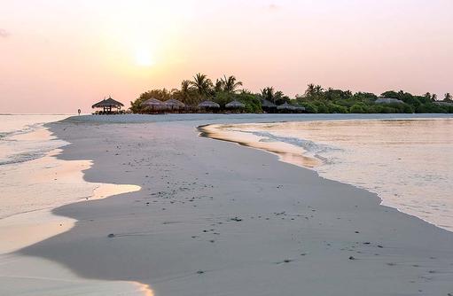 Sandbank bei Sonnenuntergang I Palm Beach Island