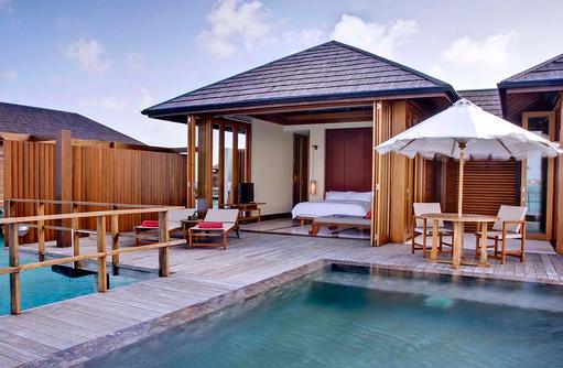 Haven Suite, Privatpool, Sonnendeck, Offenes Schlafzimmer, Paradise Island Resort & Spa, Maldives