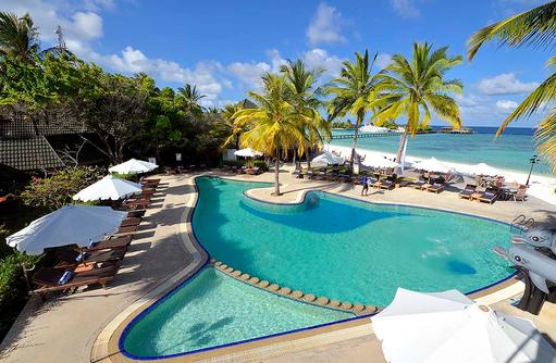 Swimming Pool, Pool Area, Paradise Island Resort & Spa, Maldives