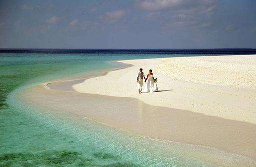 Hochzeit am Strand,  Park Hyatt Maldives Hadahaa, Maldives