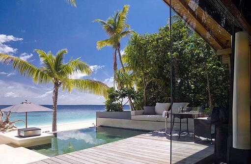 Pool der Park Pool Villa Ocean View, Park Hyatt Maldives Hadahaa, Maldives