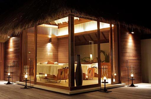 Massageraum Spa Villa, Park Hyatt Maldives Hadahaa, Maldives