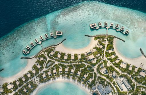 Aerial, Patina Maldives, Fari Islands