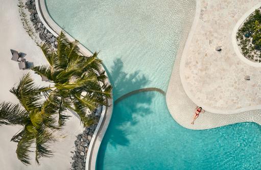 Aerial Fari Bar, Patina Maldives, Fari Islands