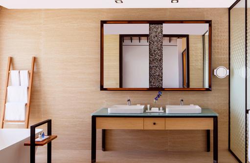 Badezimmer, Radisson Blu Resort Maldives