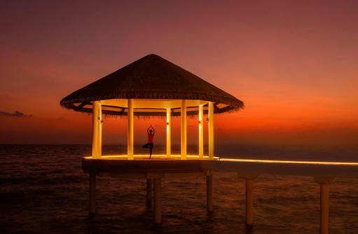 Yoga, Radisson Blu Resort Maldives