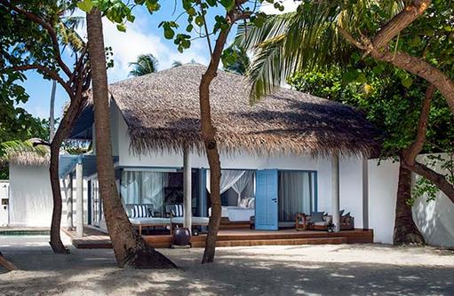 Beach Villa, Raffles Maldives Meradhoo
