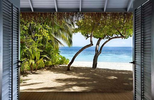 privater Strand, Beach Villa, Raffles Maldives Meradhoo