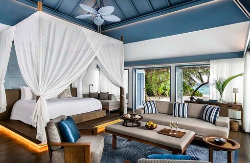 Wohnbereich, Raffles Maldives Meradhoo