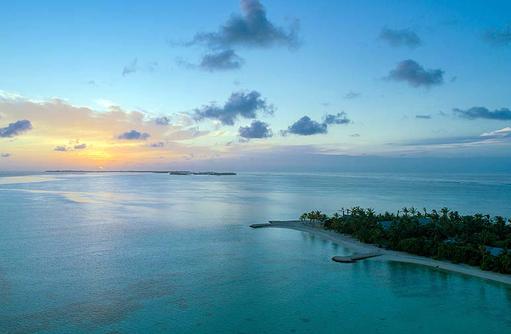 Sonnenuntergang, Rahaa Resort