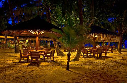 Rasgefaanu Bar, Reethi Beach Resort, Malediven