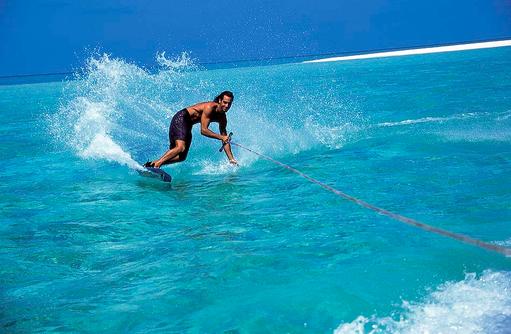 Wasserski, Wassersport, Reethi Beach Resort, Malediven