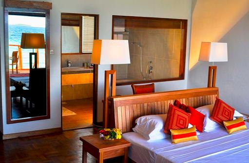Wasser Villa, Innenraum, Reethi Beach Resort, Malediven