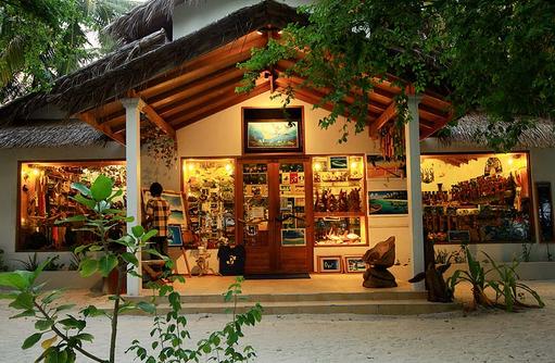 Souvenir Shop, Reethi Beach Resort, Malediven