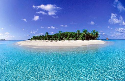 Inselparadies, Reethi Beach Resort, Malediven