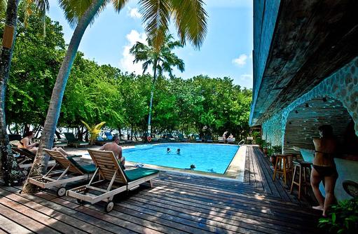 Pool Bar Veyo, Reethi Beach Resort, Malediven