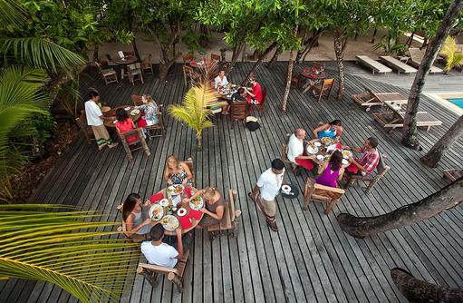 Restaurant Alifaan, Reethi Beach Resort, Malediven