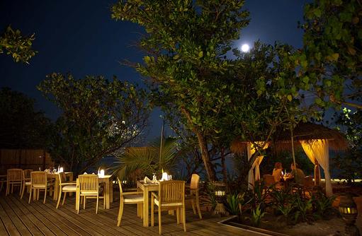 Reethi Grill Restaurant, Reethi Beach Resort, Malediven