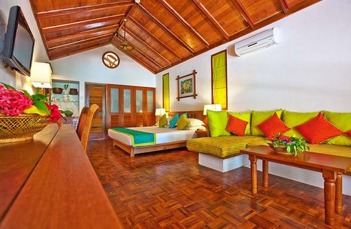 Deluxe Villa, Reethi Beach Resort, Malediven