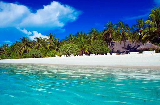 Palmenstrand, Rihiveli The Dream Resort
