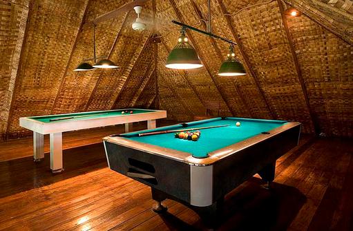 Billiard, Rihiveli The Dream Resort