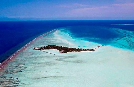 Luftaufnahme, Rihiveli The Dream Resort