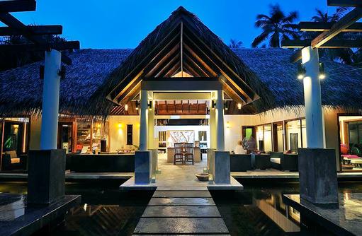Spa, Wellness, Eingangsbereich I ROBINSON Club Maldives