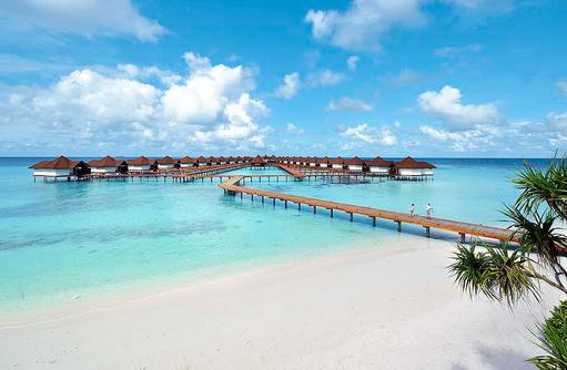 Wasservillen I ROBINSON Club Maldives