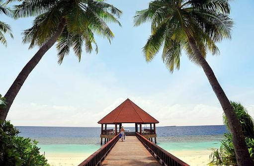 Herzlich Willkommen, Ankunftssteg, Arrival Jetty I ROBINSON Club Maldives