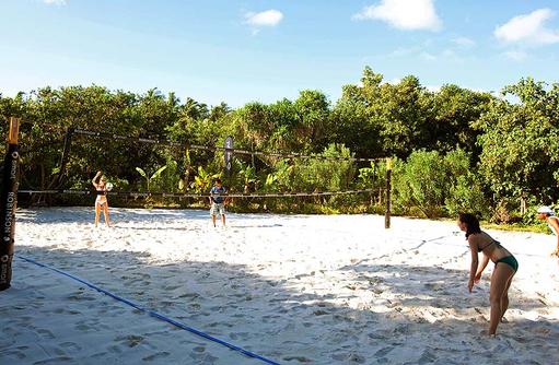 Beachvolleyball I ROBINSON Club Maldives