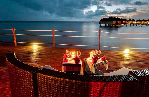 Flying Dinner, Privates Dinner am Wunschort I ROBINSON Club Maldives