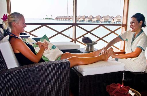 Pediküre, Safari Island Resort, Maldives