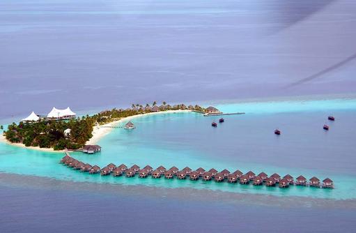 Inselübersicht, Safari Island Resort, Maldives