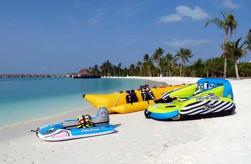 Wassersportausrüstung, Safari Island Resort, Maldives