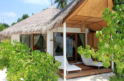 Terrasse Beach Bungalow, Safari Island Resort, Maldives