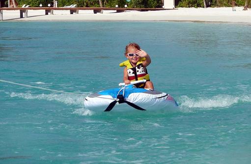 Dolphi Trainer, Safari Island Resort, Maldives