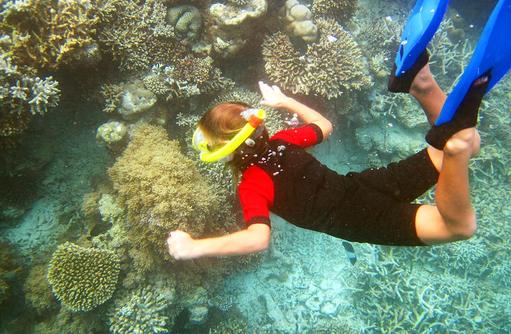 Schnorcheln, Safari Island Resort, Maldives