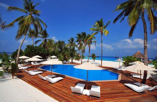 Gemeinschaftspool, Safari Island Resort, Maldives