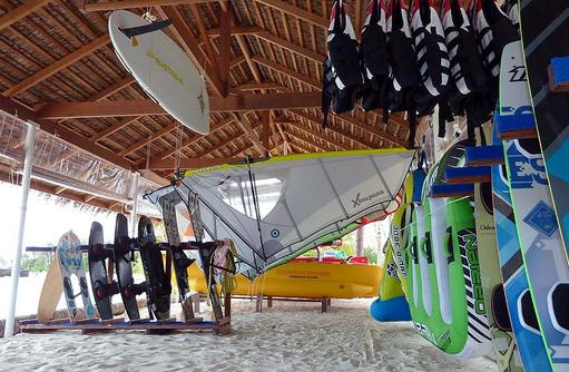 Wassersportzentrum, Safari Island Resort, Maldives