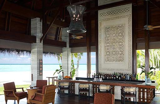Manzaru Bar, Shangri-La's Villingili Resort & Spa, Malediven