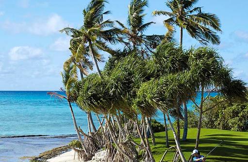 Traumkulisse zum Golfen, Shangri-La's Villingili Resort & Spa, Malediven