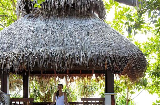 Yoga im CHI, the Spa, Shangri-La's Villingili Resort & Spa, Malediven