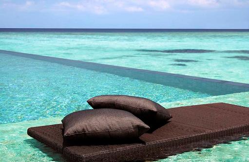 Infinity Pool, Villa Muthee, Shangri-La's Villingili Resort & Spa, Malediven