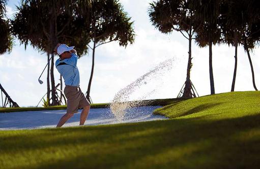 Golfen auf den Malediven, Shangri-La's Villingili Resort & Spa, Malediven