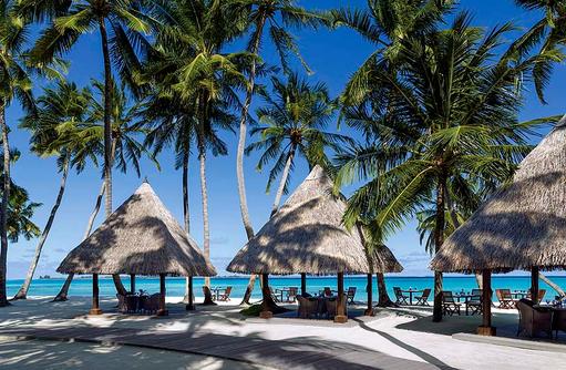 Restaraunt Javvu am Strand, Shangri-La's Villingili Resort & Spa, Malediven