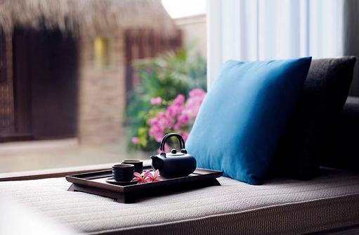 Teatime, Shangri-La's Villingili Resort & Spa, Malediven