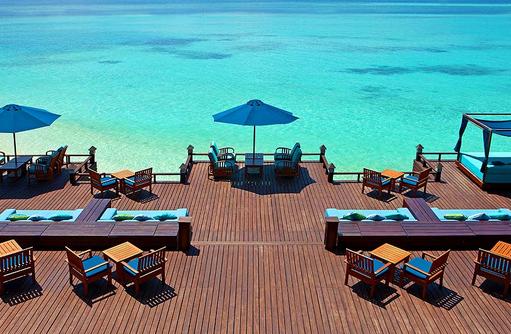 Anchorage Bar, Terrasse, Sheraton Full Moon Resort & SPA, Malediven