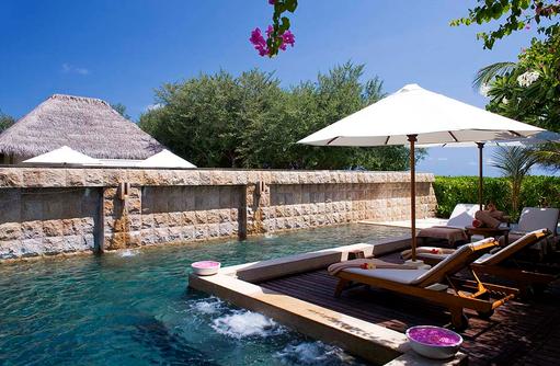 Plunge Poolim Shine Spa for Sheraton, Sheraton Full Moon Resort & SPA, Malediven
