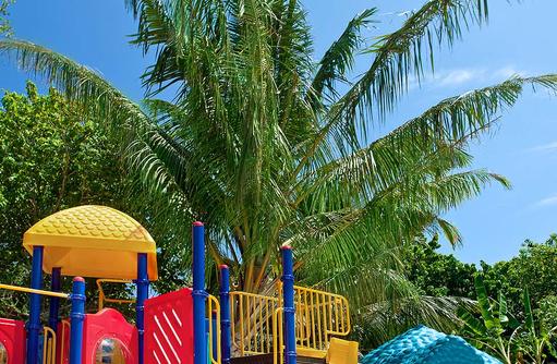 Spielplatz, Adventure Club, Kids Club, Sheraton Full Moon Resort & SPA, Malediven